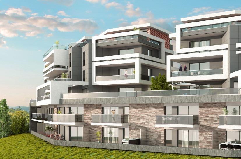 Résidence Aquiano- 44 logements - carrelage - evian